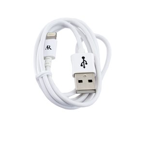 Acoustic Research .9M Lightning Cable, White, MFi Certified