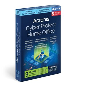 Acronis True Image 2021 Advanced 1 Year Subscription for 3 Computers + 250GB Acronis Cloud Storage