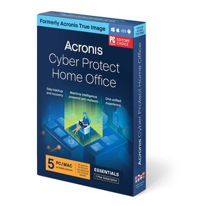 Acronis True Image 2021 Advanced 1 Year Subscription for 5 Computers + 250GB Acronis Cloud Storage