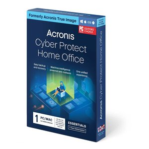 Acronis True Image 2021 Premium 1 Year Subscription for 1 Computer + 1.0TB Acronis Cloud Storage