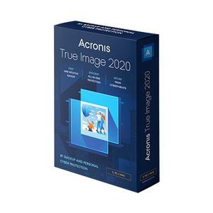 Acronis True Image 2020 Premium 1 Year Subscription for 5 Computers + 1.0TB Acronis Cloud Storage