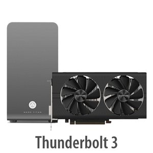 AKiTiO Node Titan Thunderbolt 3 eGPU Enclosure with Radeon RX 580 GPU bundle