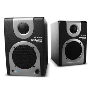 Alesis M1Active 320 USB Near-Field Reference Monitors with USB Audio Interface