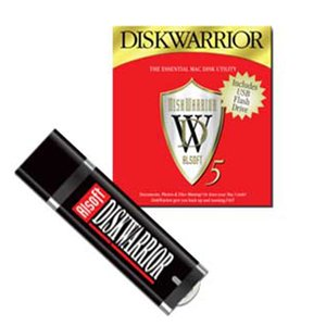 (*) Alsoft DiskWarrior 5 for Mac OS X For Intel Mac systems running 10.5.8 or later. On USB Flash Drive