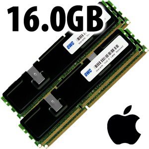 (*) 16.0GB (4x 4GB) DDR3 ECC PC10600 1333MHz 240 Pin SDRAM ECC for Mac Pro 'Nehalem' & 'Westmere' mo
