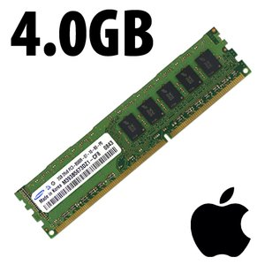 (*) 4.0GB Apple-Samsung Brand PC10600 DDR3 ECC 1333MHz 240pin DIMM Memory module