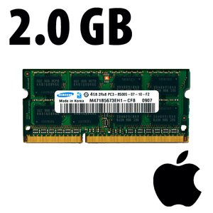 (*) 2.0GB Apple-Micron Factory Original PC10600 DDR3 204 Pin CL9 1333MHz SO-DIMM Module *Used / Pull