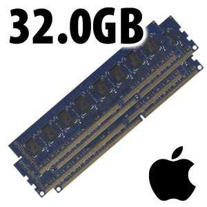(*) 32.0GB (4 x 8GB) PC14900 DDR3 ECC 1866MHz 240 Pin Memory Kit for Mac Pro 2013, PC using 1866 ECC