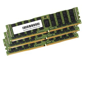 (*) 48.0GB (3 x 16GB) Apple-Major Brand PC23400 DDR4 ECC 2933MHz 288-pin RDIMM Memory Upgrade Kit