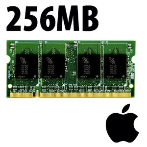 (*) 256MB Apple-Major Brand Factory Original PC5300 DDR2 200 Pin CL5 667MHz SO-DIMM *Used / Pull*