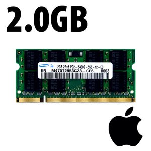 (*) 2.0GB Samsung Original PC5300 DDR2 667MHz SO-DIMM Module for Core Duo/Core 2 Duo systems