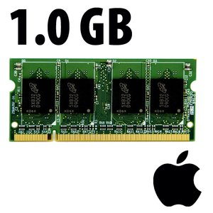(*) 1.0GB Apple-Major Brand Factory Original PC6400 DDR2 200 Pin CL6 800MHz SO-DIMM Module