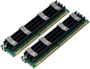 (*) Used 4.0GB Kit for Mac Pro 800MHz (works in 667MHz too) PC6400 DDR2 800MHz ECC FB-DIMMs
