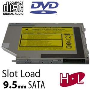 Apple Service Part: 8X Slot Loading Super Drive SATA interface 9.5mm.