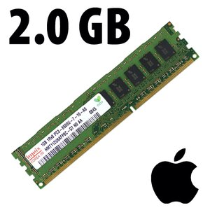 (*) 2.0GB Apple-Hynix Factory Original PC8500 DDR3 ECC 1066MHz SDRAM Module