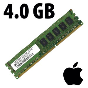 (*) 4.0GB Apple-Micron Factory Original PC8500 DDR3 ECC 1066MHz SDRAM *Used / Pull*