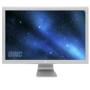"Apple Cinema Display 30"" Aluminum (DVI) Monitor. 16:10 LCD. DVI, USB 2.0 & FW400. Used"