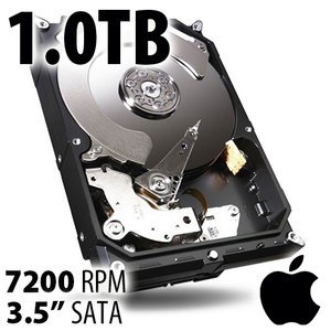 (*) 1.0TB Apple Genuine 3.5-inch SATA 7200RPM Hard Drive from 2017 or later