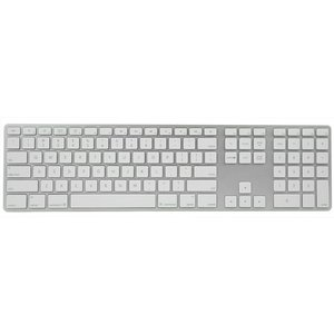 (*) Apple Keyboard with Numeric Keypad - sleek, ultrathin anodized aluminum with two USB 2.0 ports.