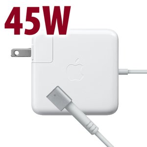 (*) Apple Genuine 45W MagSafe Power Adapter for all Apple MacBook Air Models