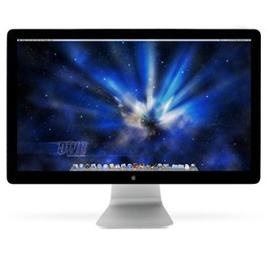 Apple Cinema Display 24-inch LED-backlit Display up to 1920x1200 mDP connected. Used, Fair Cond.
