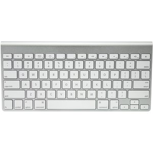 Apple Wireless Keyboard<BR>Bluetooth for Macs & iDevices