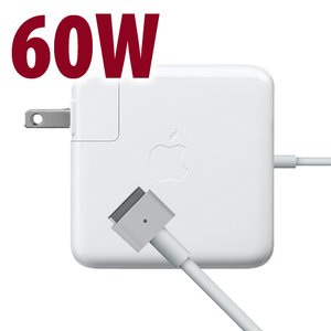 "(*) Apple 60W MagSafe 2 Power Adapter for 13"" MacBook Pro with Retina display Models. Retail Packaged."