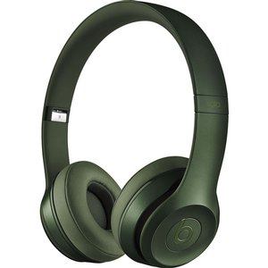 Apple / Beats by Dr. Dre Solo 2 headphones - Hunter Green. *Factory Refurbished*
