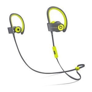 Apple / Beats by Dr. Dre Powerbeats2 Wireless Earbuds. Yellow Sport. *Factory Refurbished*