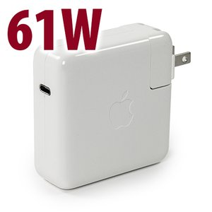 (*) Apple Genuine 61W USB-C Power Adapter
