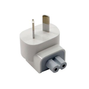 "Apple Service Part: Genuine Apple ""Duckhead"" AC Wall Plug for AU wall receptacles"