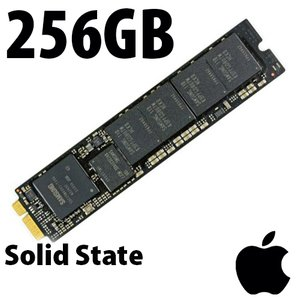 (*) 256GB Apple/OEM PCIe SSD for MacBook Pro w/ Retina (Late 2013 - Mid 2015), MacBook Air (Mid 2013 - Mid 2017)