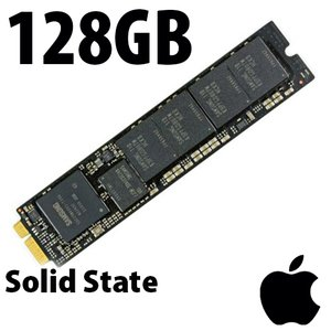 (*) 128GB Apple/OEM Solid State Drive, Flash Internal Drive Upgrade