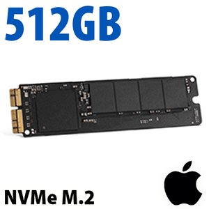 (*) 512GB Apple/OEM SSD / Flash Internal Drive Upgrade for late 2013 through 2015 MacBook Pro with Retina display