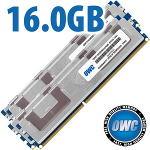 (*) 16.0GB (4 x 4GB) DDR3 ECC PC10600 1333MHz SDRAM ECC for Mac Pro 2009-2012 Models