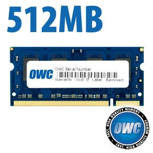 (*) 512MB PC2-5300 DDR2 667Mhz SO-DIMM 200 Pin Memory Module