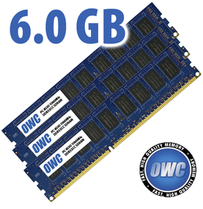 (*) 6.0GB (3x 2GB) PC8500 ECC Matched for all Apple Mac Pro 2009 & 2010 4-Core & 8-Core Models *Used