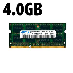(*) 4.0GB PC-8500 DDR3 1066MHz SO-DIMM 204 Pin Memory Upgrade Module *Used*