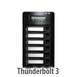 Areca ARC-8050T3 6-Bay Thunderbolt 3 RAID Storage
