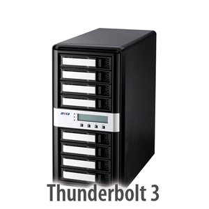 Areca ARC-8050T3 8-Bay Thunderbolt 3 RAID Storage