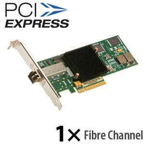 ATTO Celerity FC-81EN Single-Channel 8Gb/s Fibre Channel PCIe 2.0 Host Bus Adapter. LC SFP+ Int.