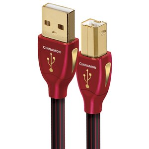 "1.5 Meter (60"") AudioQuest Cinnamon USB 2.0 type A to USB 2.0 type B Cable"