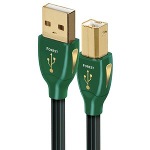 "1.5 Meter (60"") AudioQuest Forest USB 2.0 type A to USB 2.0 type B Cable"