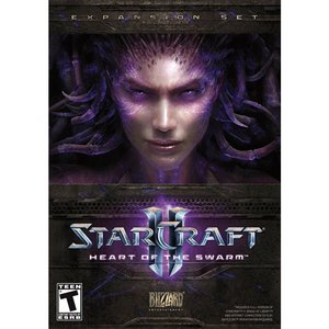 Starcraft II: Heart of the Swarm by Blizzard.