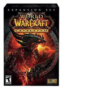 World of Warcraft: Cataclysm Expansion Pack by Blizzard. Requires World of Warcraft