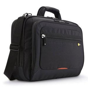 "Case Logic 17"" Checkpoint Friendly Laptop Case - Black."
