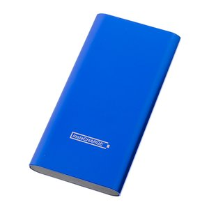 Calitronics instaCHARGE 6600mAh Dual-USB Quick Charge Power Bank - Blue
