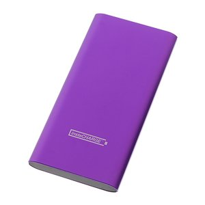 Calitronics instaCHARGE 6600mAh Dual-USB Quick Charge Power Bank - Purple
