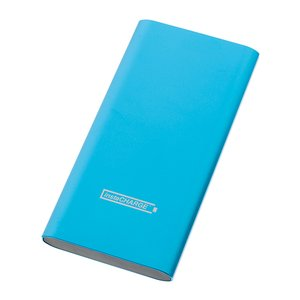Calitronics instaCHARGE 6600mAh Dual-USB Quick Charge Power Bank - Turquoise