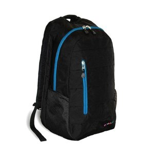 J World New York Collis Laptop Backpack- Black